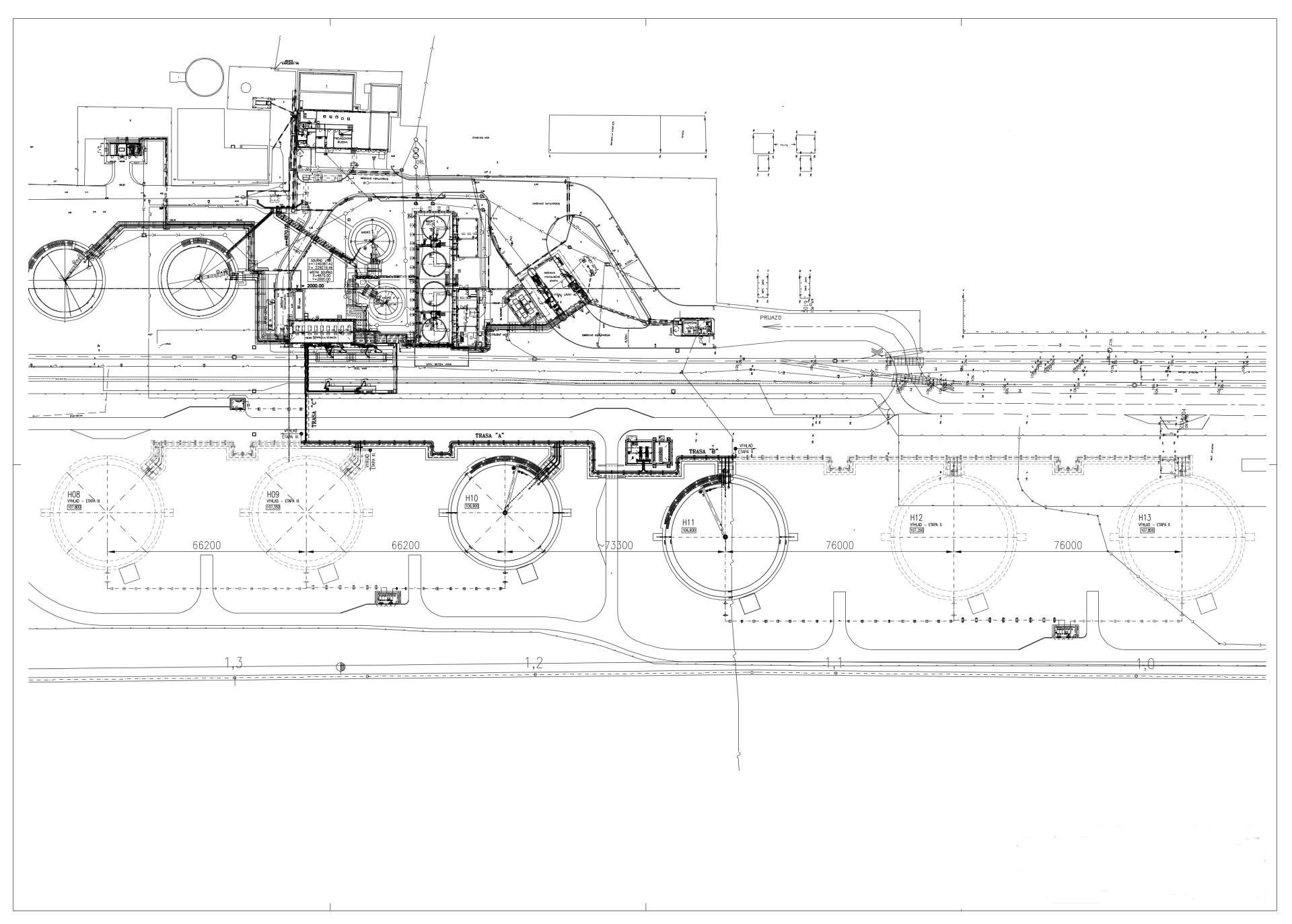 схема расположения оборудования на нефтебазах